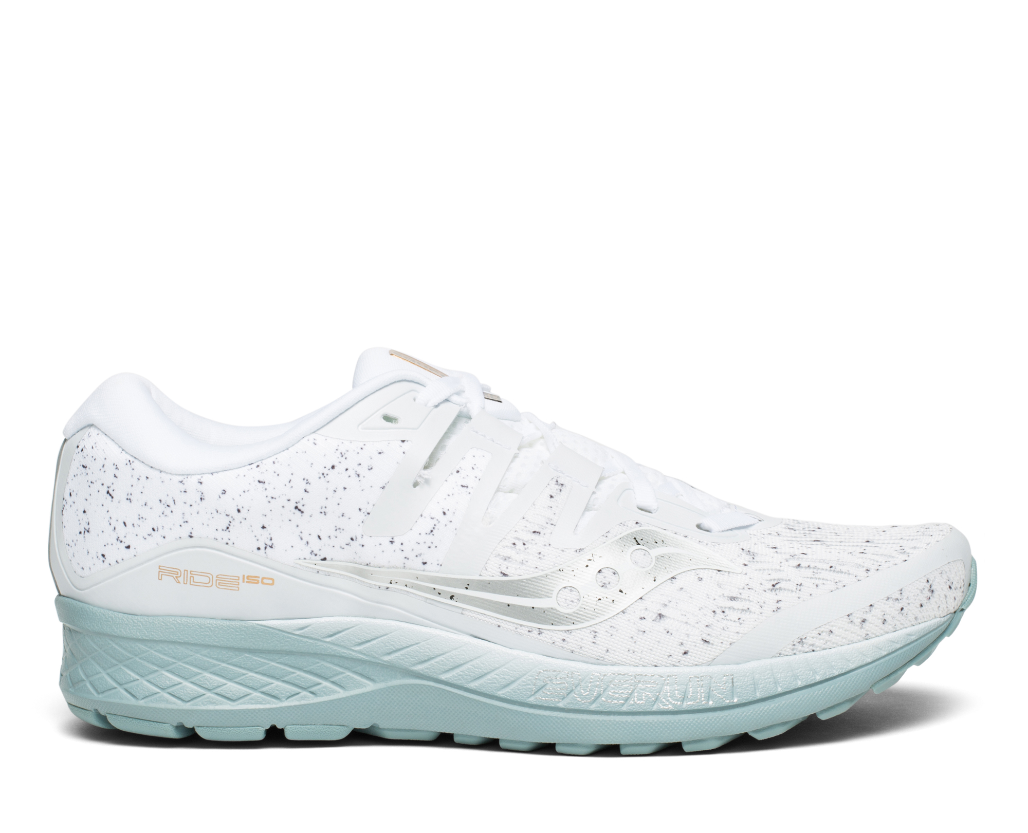 Saucony Ride ISO heren - White Noise