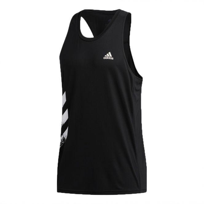 adidas Own The Run 3-Stripes PB Singlet heren