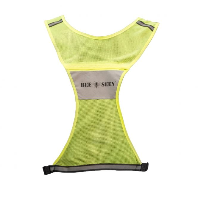 BEE SEEN Reflective Vest Lime