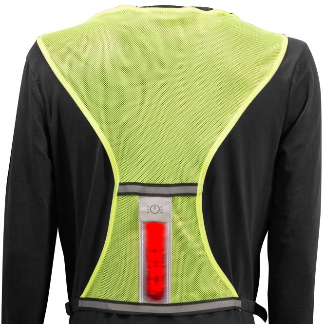 BEE SEEN Safety Vest Lime 1size