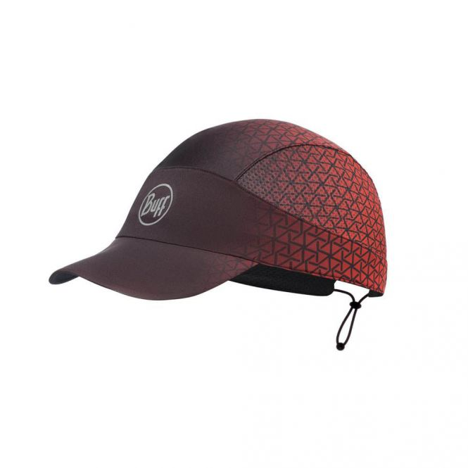 BUFF Run Cap R-Equilateral Red