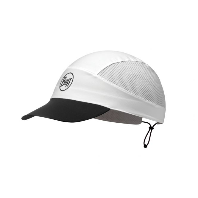 BUFF Run Cap R-Solid White