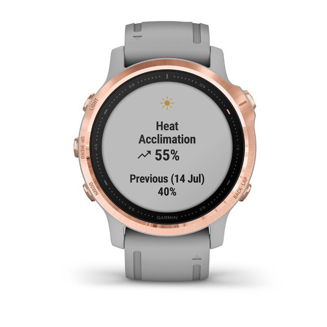 Garmin Fenix 6S Rose Gold Grey Band