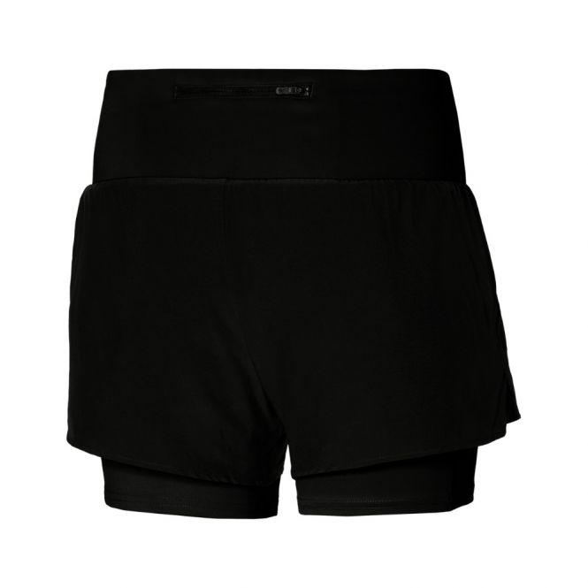 Mizuno 2in1 4.5 Inch Short dames