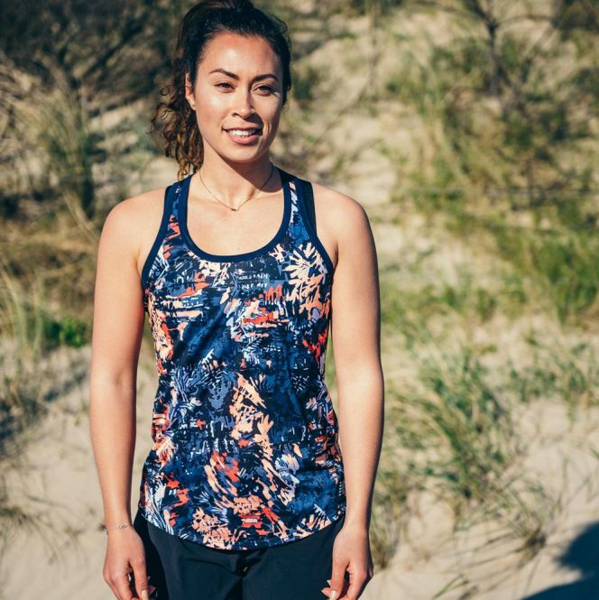 New Balance Printed Accelerate Tank v2 dames