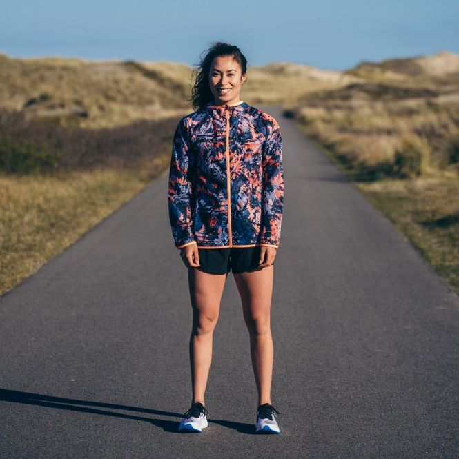 New Balance Printed Accelerate Windcheater dames