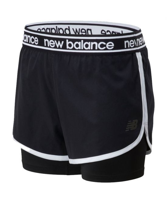 New Balance Relentless 2 In 1 Short dames