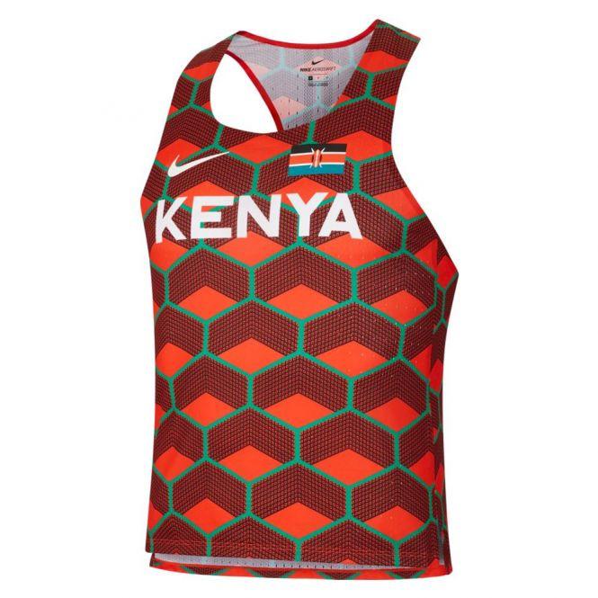 Nike Dri-FIT ADV Team Kenya AeroSwift Singlet heren