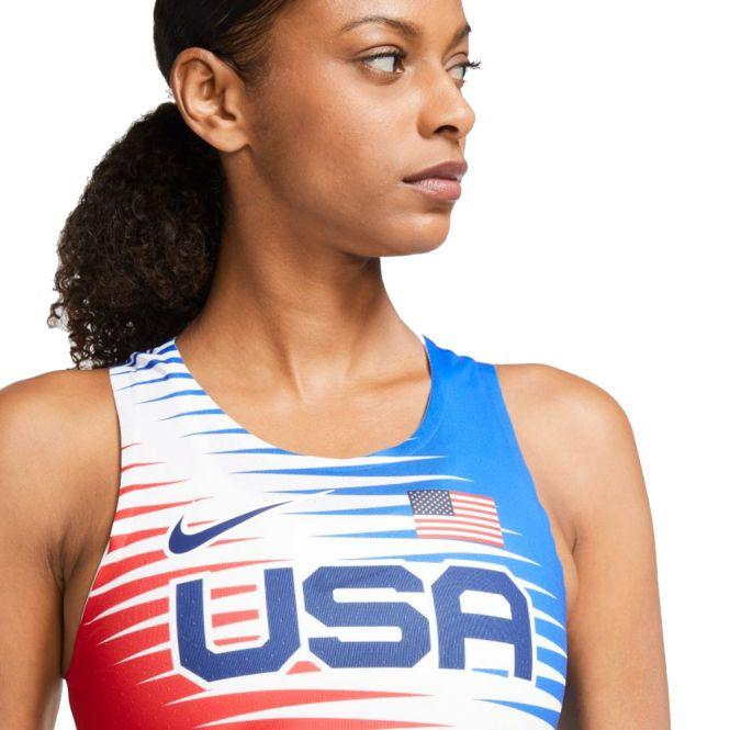 Nike Dri-FIT ADV Team USA AeroSwift Singlet dames