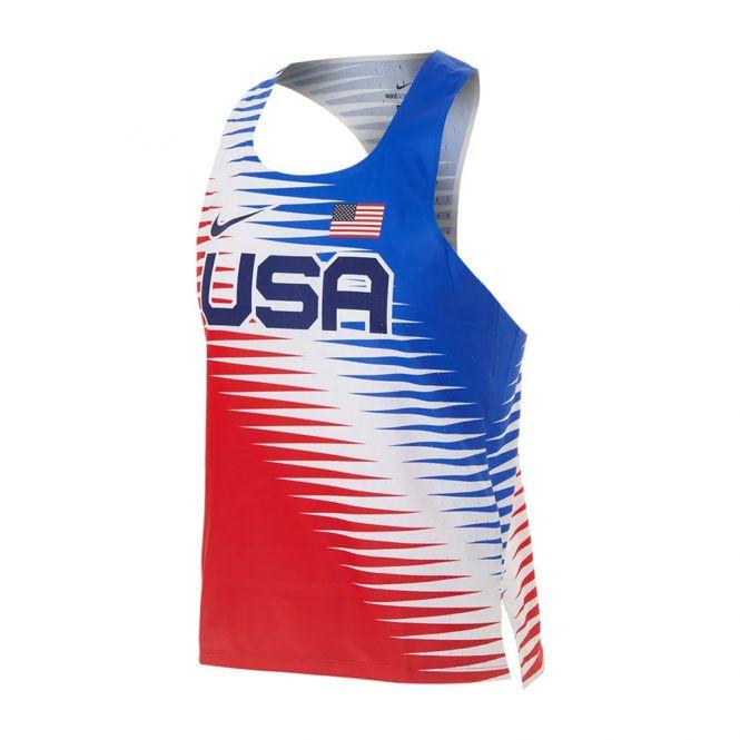 Nike Dri-FIT ADV Team USA AeroSwift Singlet heren
