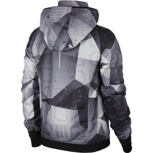 Nike Hooded Printed Jacket dames