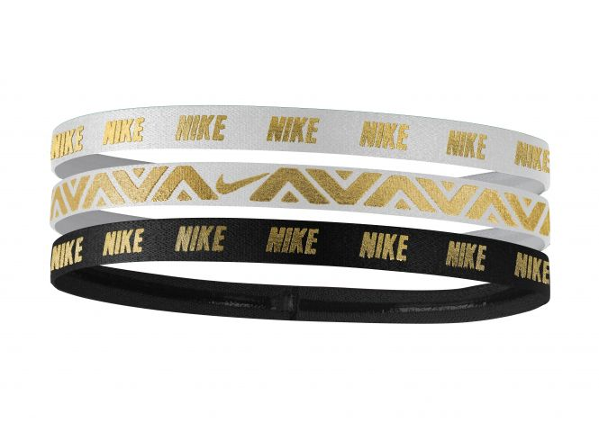 Nike Metallic Hairbands 3PK