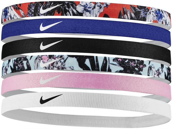 Nike NIKE PRINTED HEADBANDS 6PK