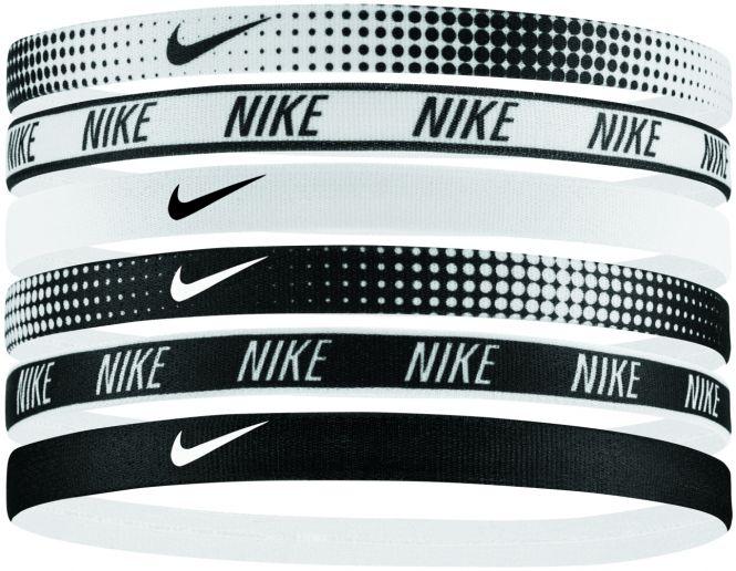 Nike Printed Headbands Ass. 6PK