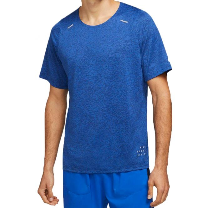 Nike Rise 365 Run Division SS heren