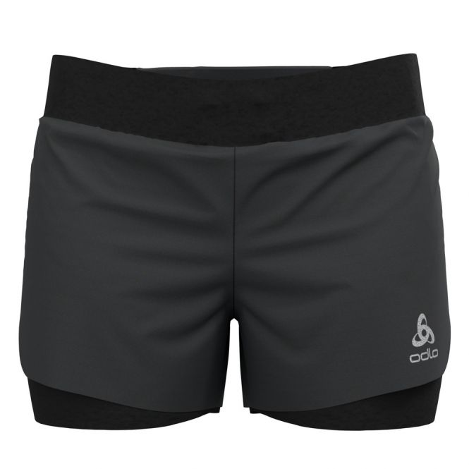 Odlo Zeroweight 3 Inch 2-in-1 shorts dames