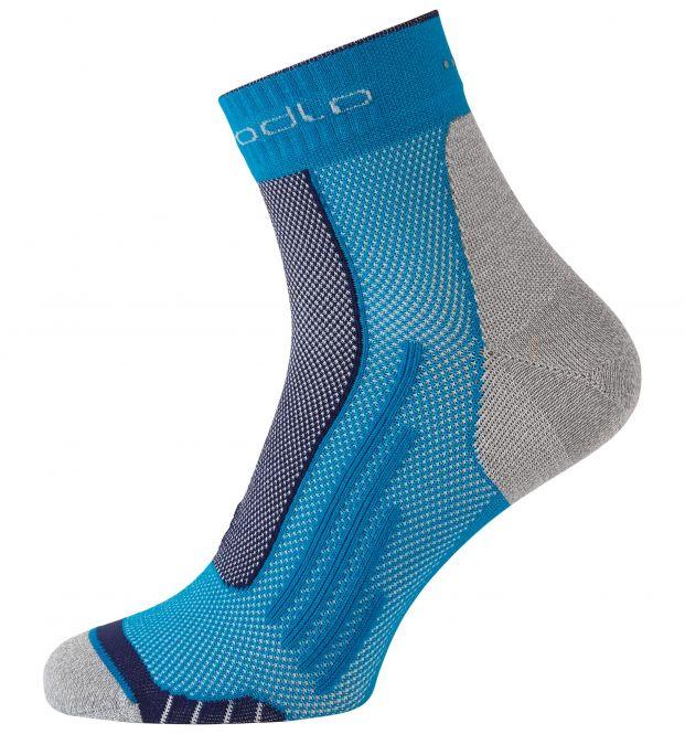 Odlo Running sok short blauw
