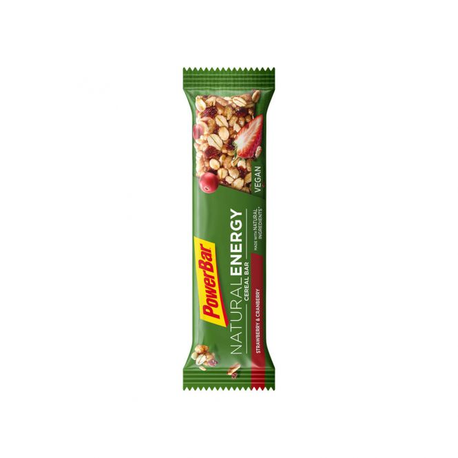 PowerBar Natural Energy Cereal Strawberry &  Cranberry Bar