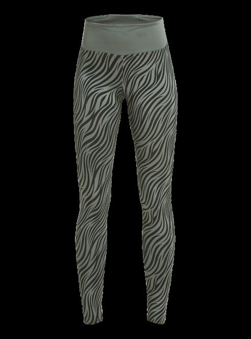 Rohnisch Smooth Tights Green Zebra dames