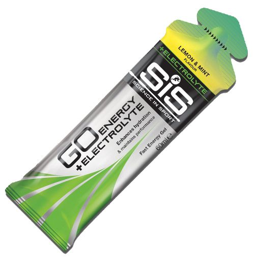 SIS Energy Gel + Electrolyte Lemon and Mint