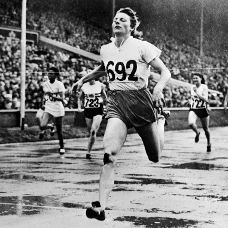 Een moeder een olympisch gouden medaillewinnares en een atletiek pionier