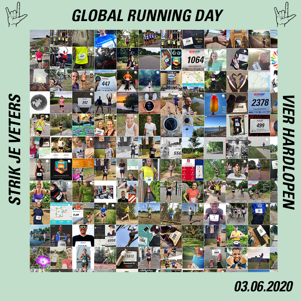 Winnaars Global Running Day 2020