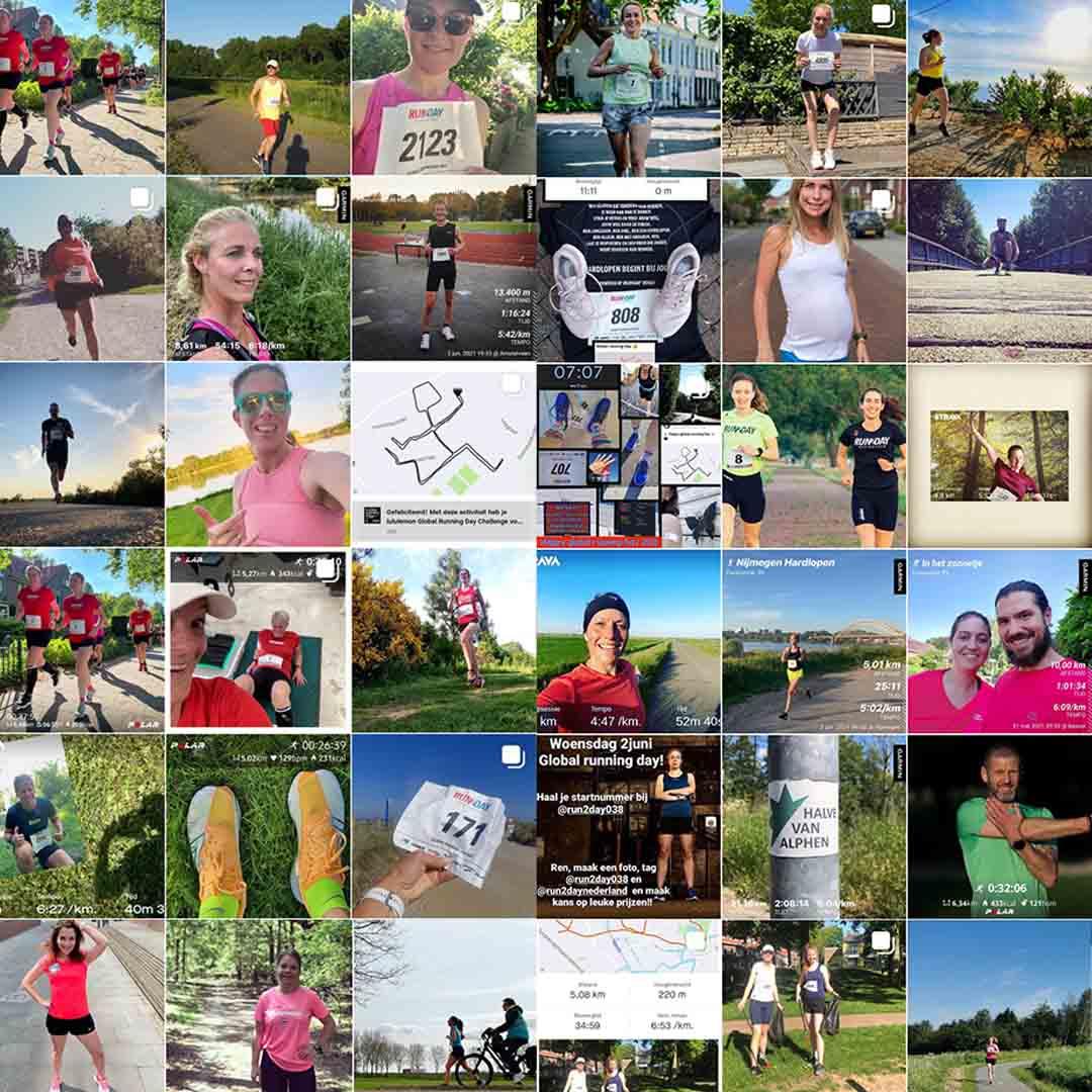Winnaars Global Running Day 2021