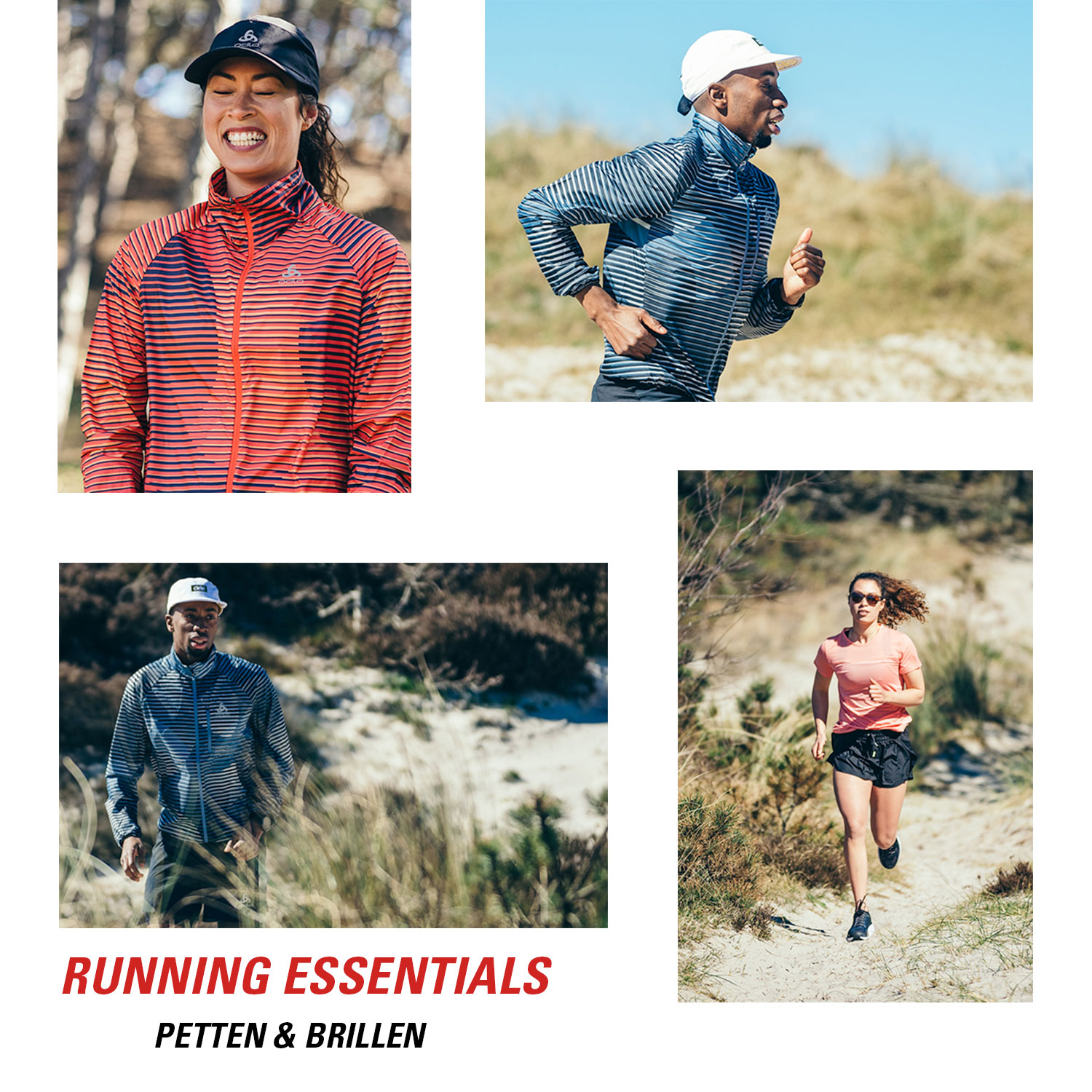 Running essentials: petten en brillen