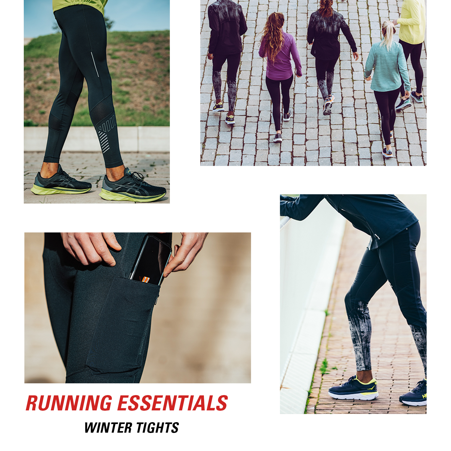 Running essentials: winter tights