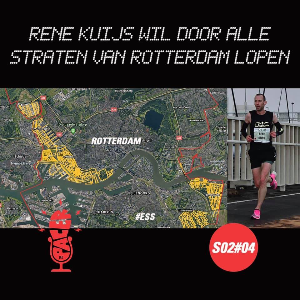 Door alle straten van Rotterdam hardlopen