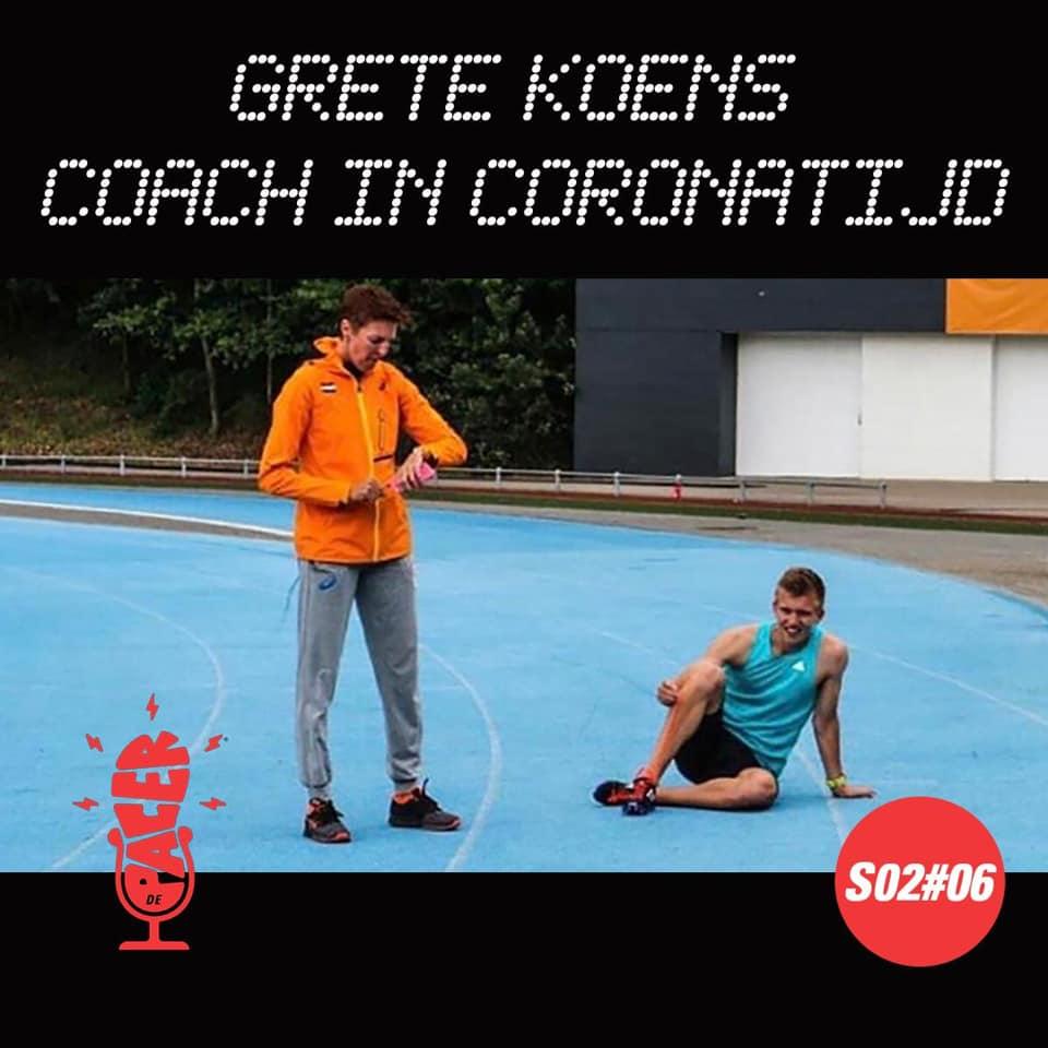 Grete Koens, coach in coronatijd