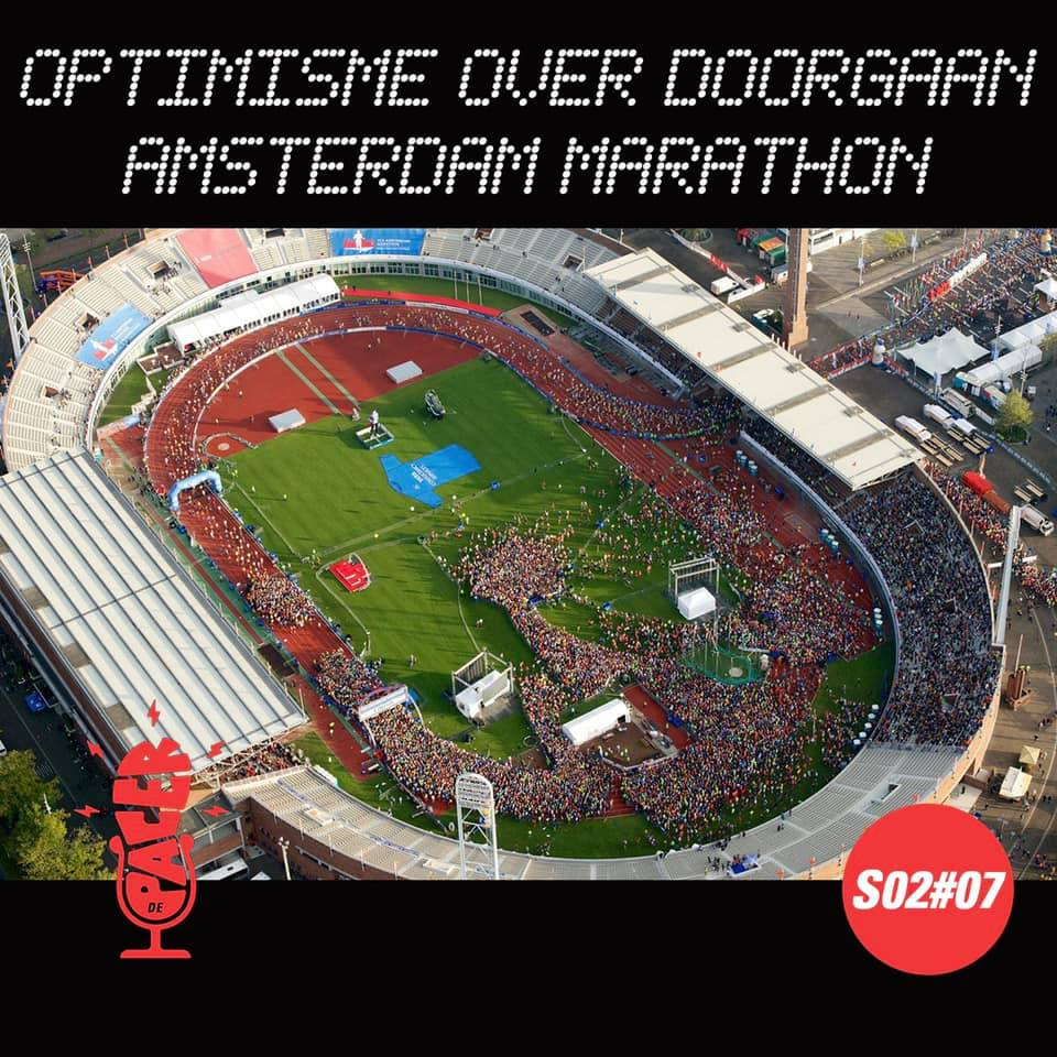 Optimisme over doorgaan Amsterdam Marathon