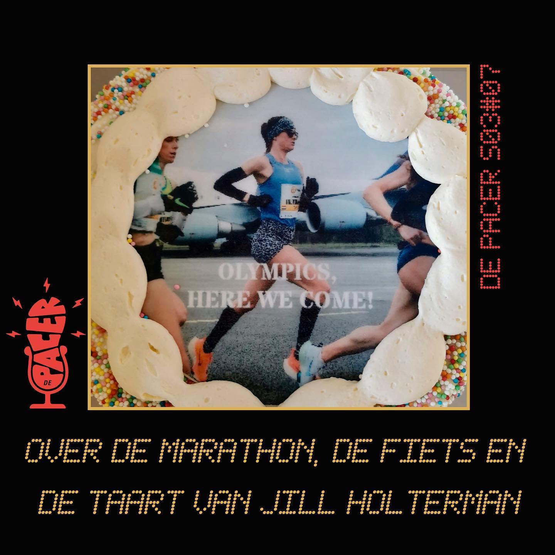 Over de marathon, de fiets en de taart van Jill Holterman