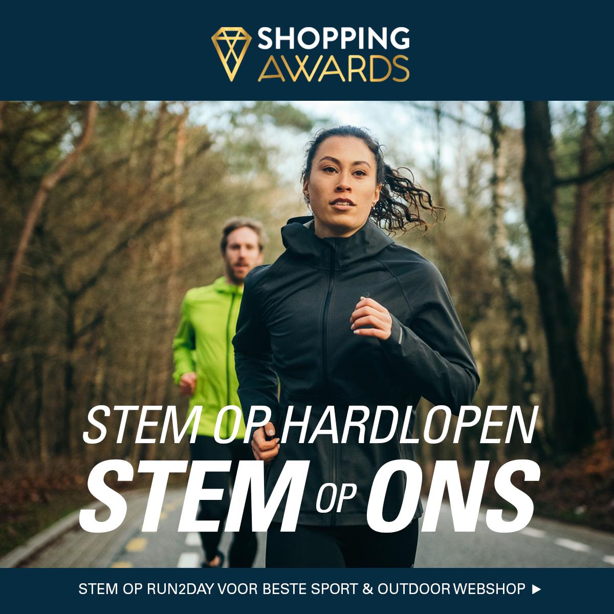 Stem op hardlopen. Stem op Run2Day