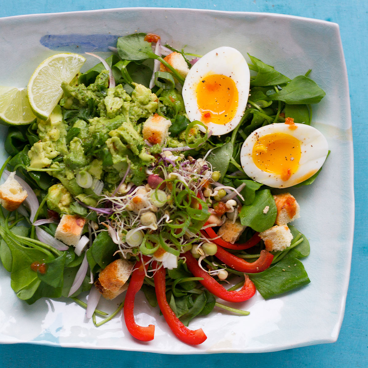 Sprouts (ontbijt)salade