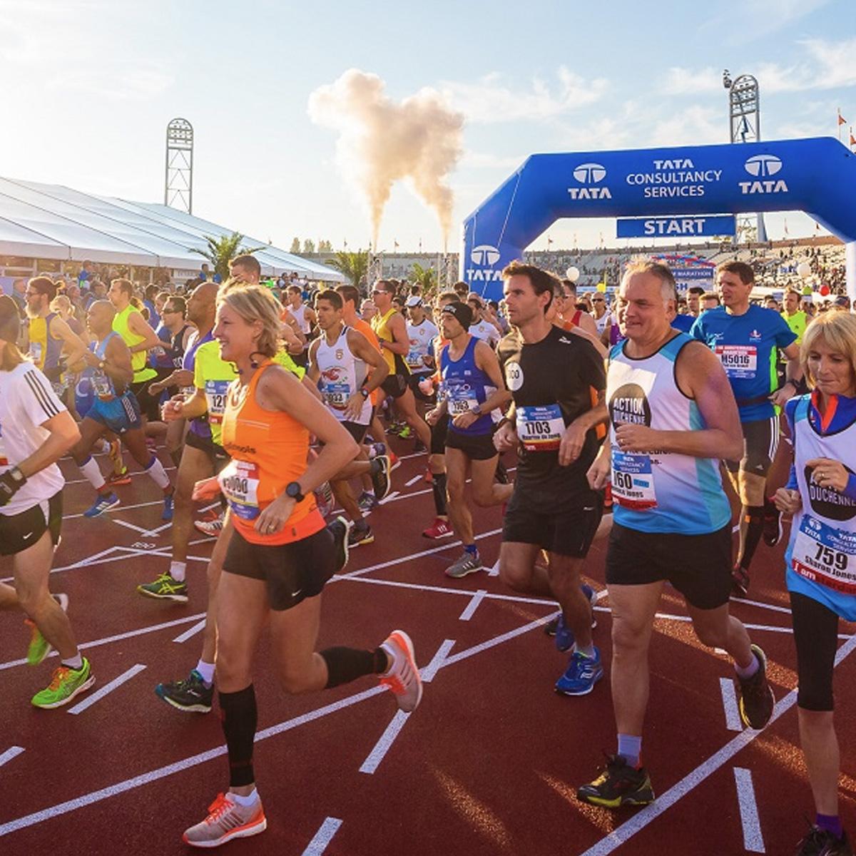 TCS Amsterdam marathon startbewijs