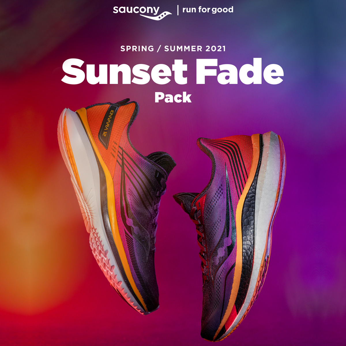 Saucony Sunset Fade Pack