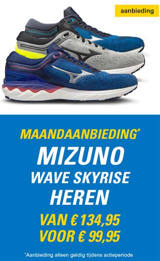 Maandaanbieding Mizuno Wave Skyrise heren