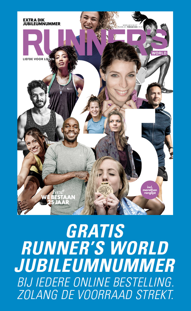 Gratis Runner's World jubileumnummer