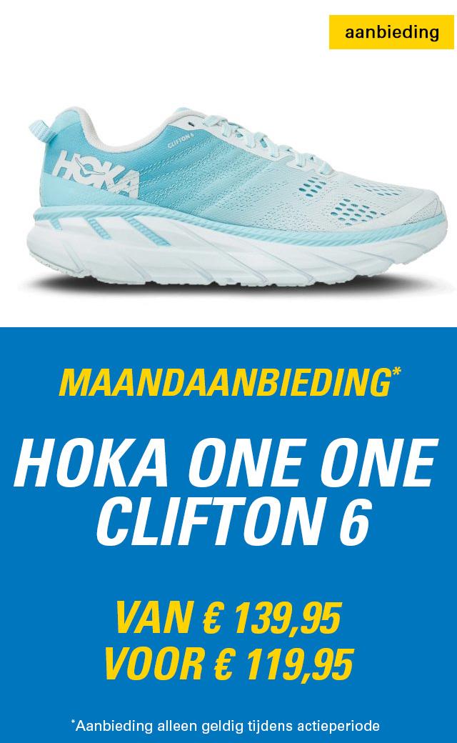 Maandaanbieding HOKA Clifton 6 dames