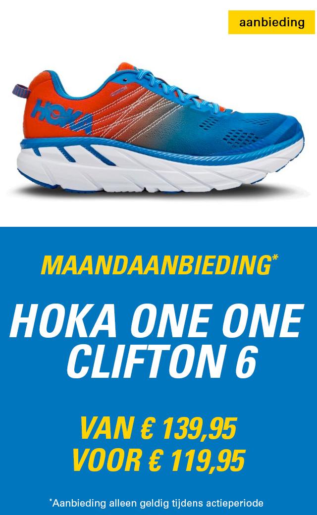 Maandaanbieding HOKA Clifton 6 heren
