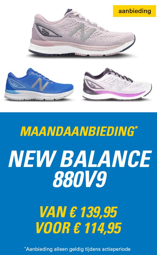 Maandaanbieding New Balance 880v9 dames