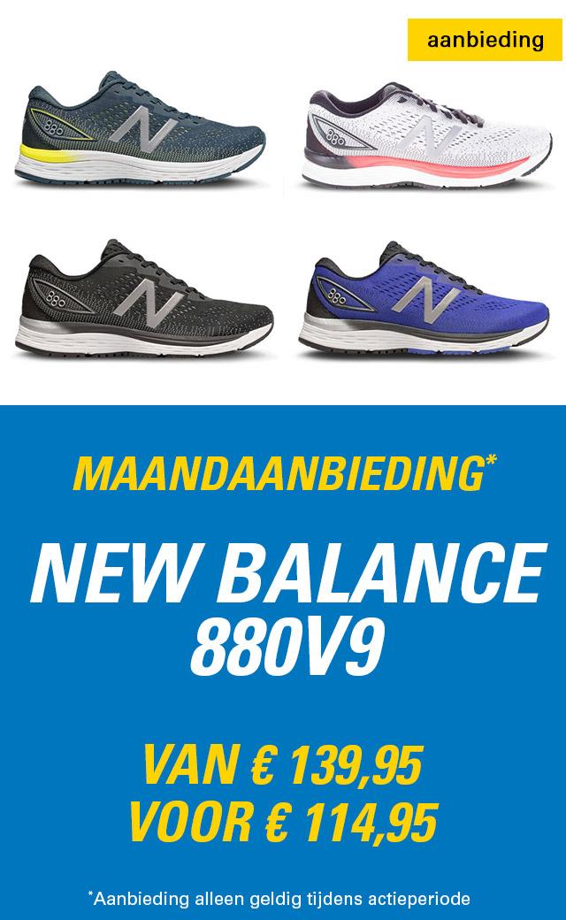 Maandaanbieding New Balance 880v9 heren
