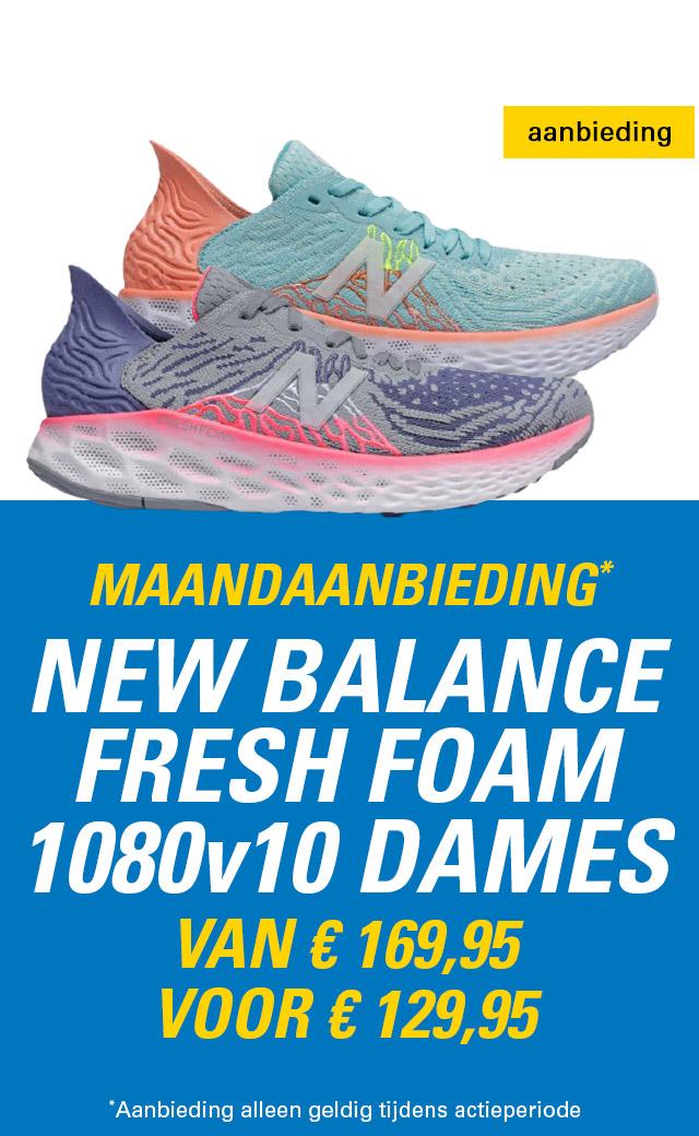 Maandaanbieding New Balance Fresh Foam 1080v10 dames
