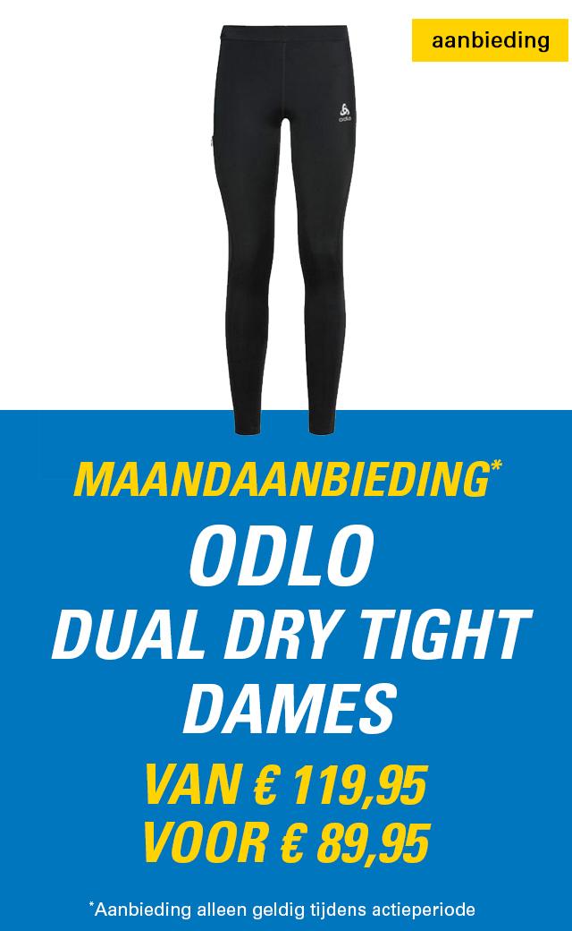 Maandaanbieding Odlo Dual Dry tight dames