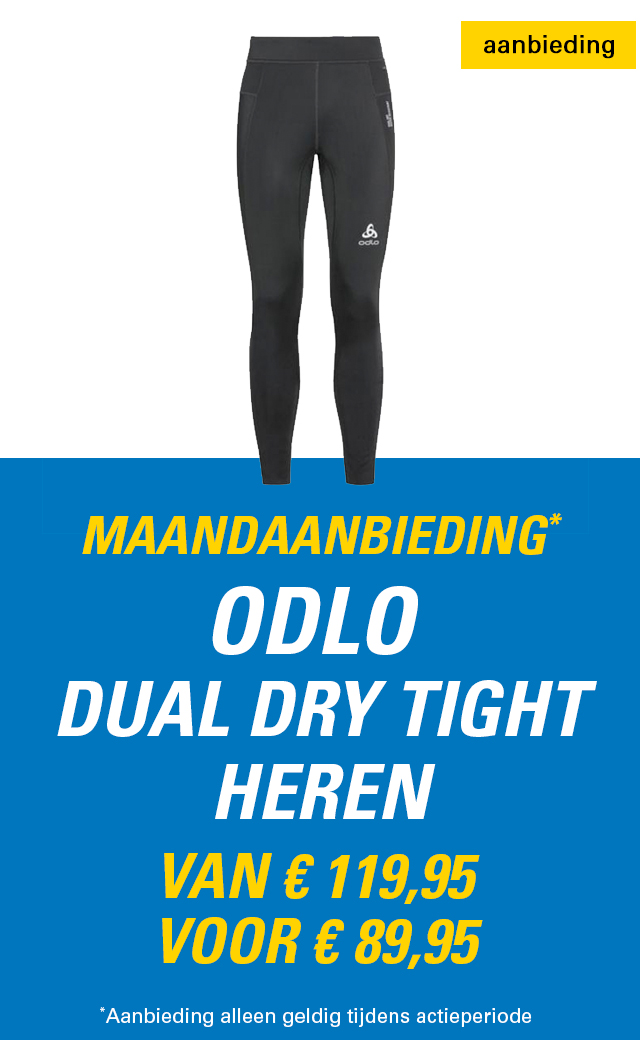 Maandaanbieding Odlo Dual Dry tight heren
