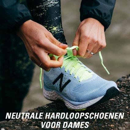 Neutrale hardloopschoenen voor dames