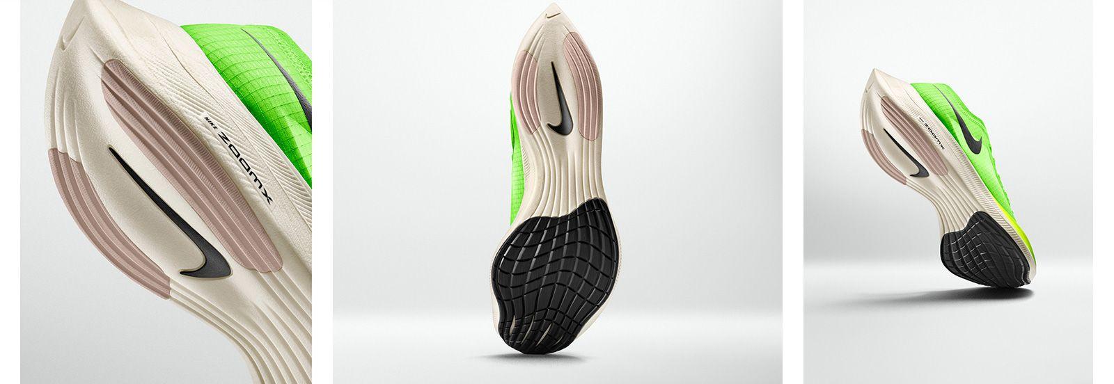 Nike ZoomX Vaporfly NEXT% vernieuwde grip