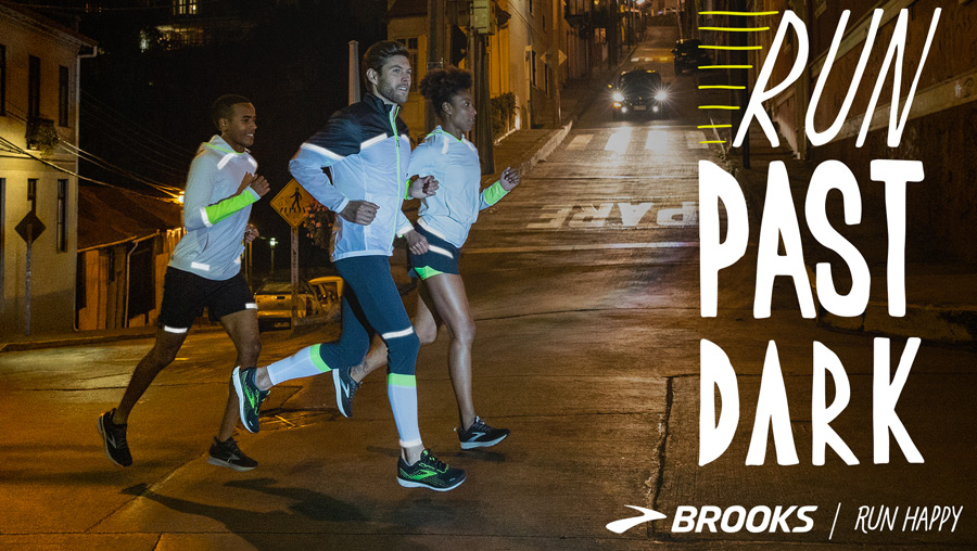 Brooks Run Visible