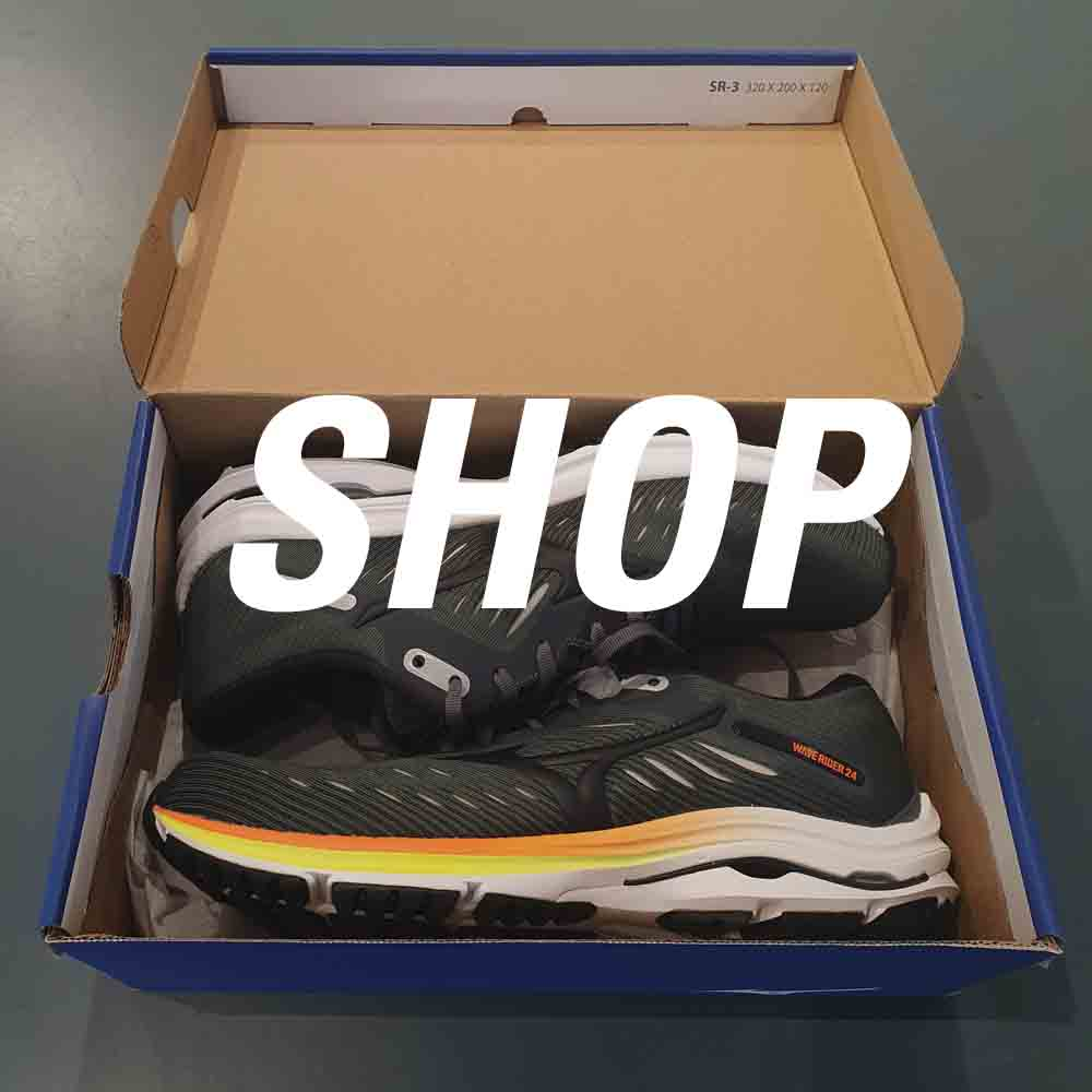 Shop Mizuno wave rider 24